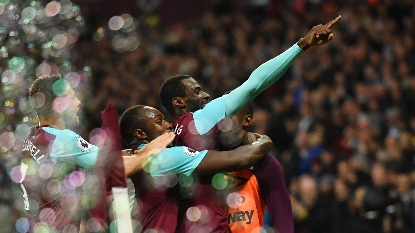 West Ham 2-0 Huddersfield Town