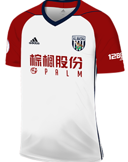West Brom away kit, 2017-18