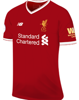 Liverpool fc news fixtures results premier league liverpool home kit 2017 18 stopboris Gallery