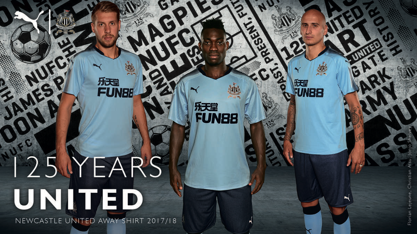 2017/18 Premier League kits: Newcastle away