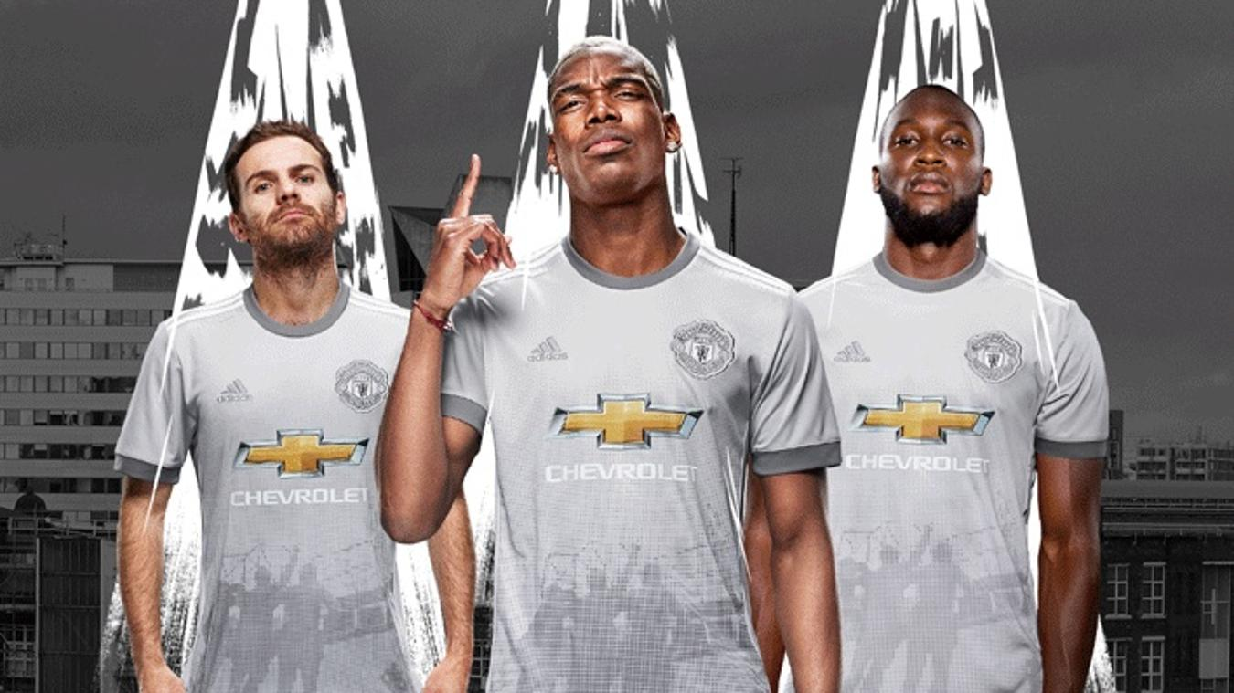 2017/18 Premier League kits: Man Utd third