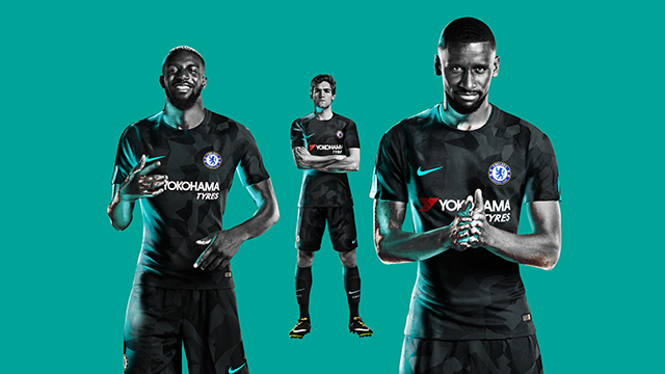 67d7a90ed64 2017/18 Premier League kits: Chelsea third