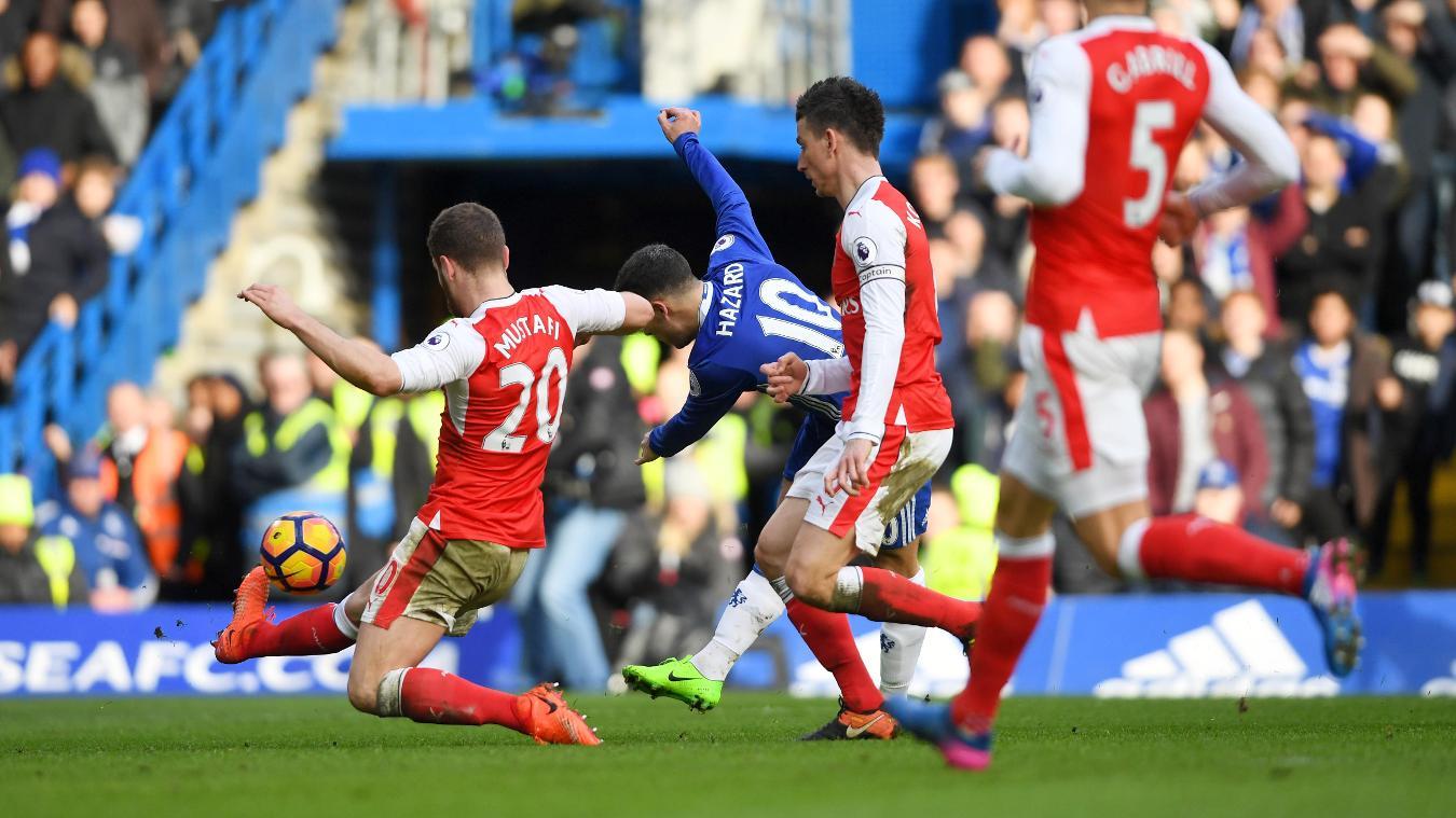 Chelsea v Arsenal, 17 September