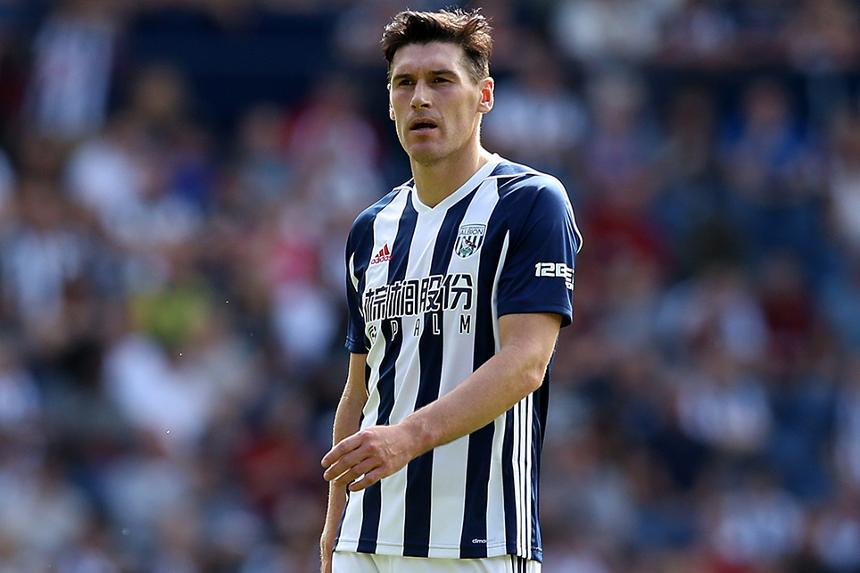 Gareth Barry, West Brom