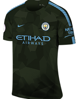 Man City third kit, 2017-18