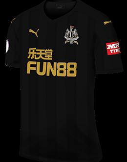 Newcastle third kit, 2017-18