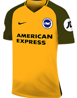 Brighton away kit, 2017-18