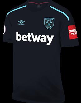 West Ham away kit, 2017-18