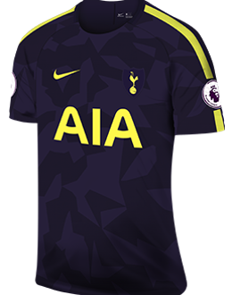 Spurs third kit, 2017-18