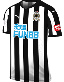 Newcastle home kit, 2017-18