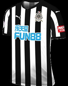 Newcastle home kit, 2017-18