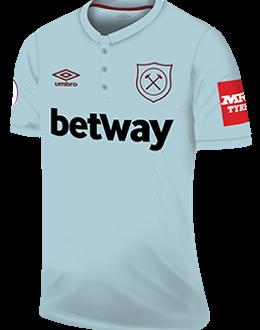 West Ham third kit, 2017-18