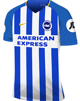Brighton home kit, 2017-18