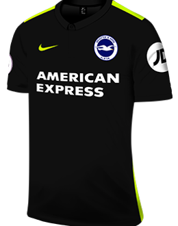 Brighton third kit, 2017-18