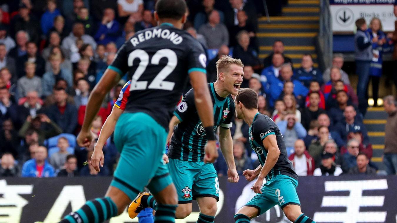 Crystal Palace 0-1 Southampton