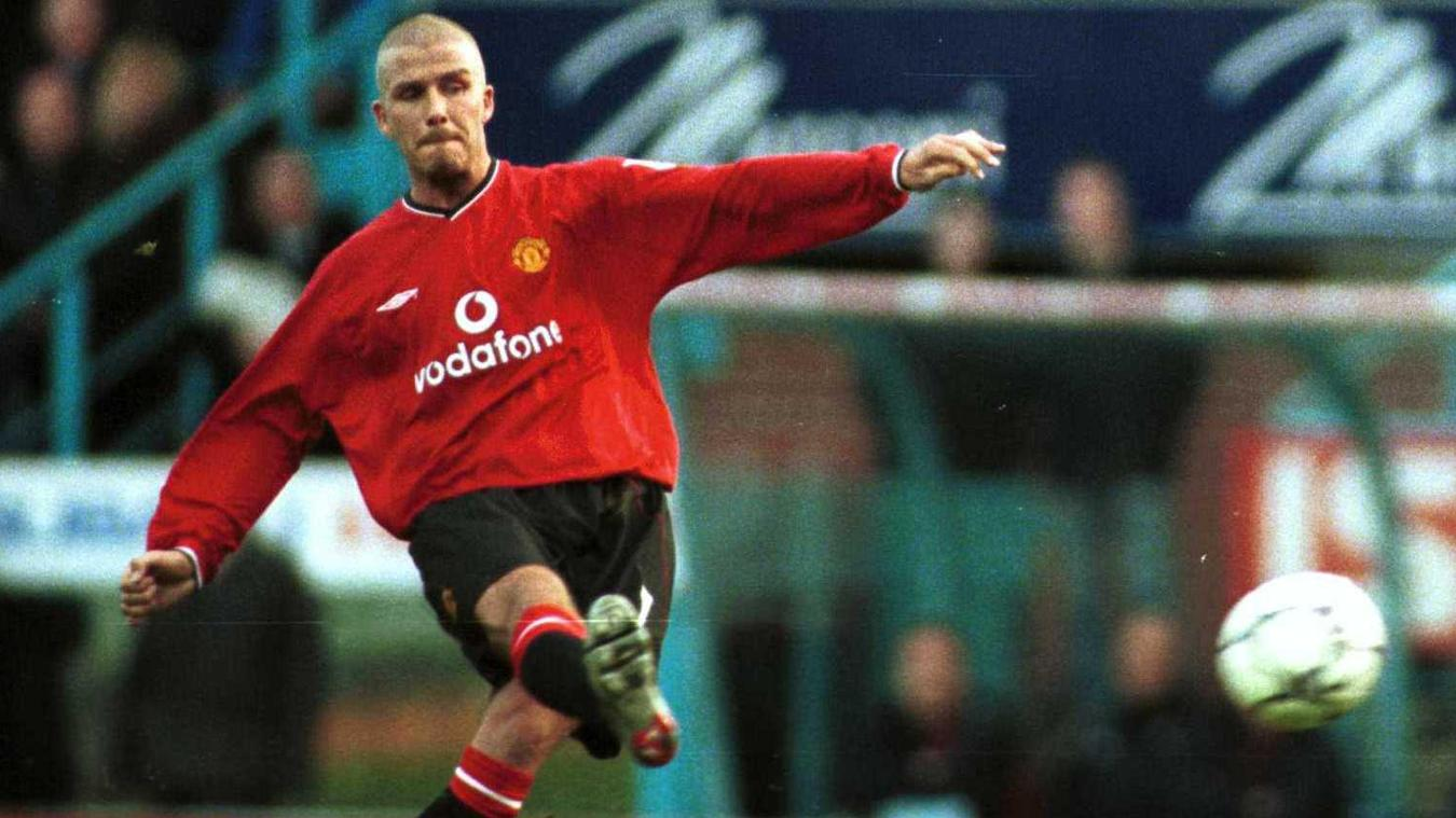 David Beckham, Man Utd