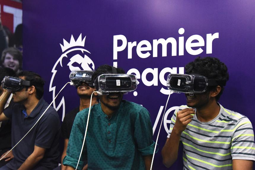 Premier League Live Virtual Reality