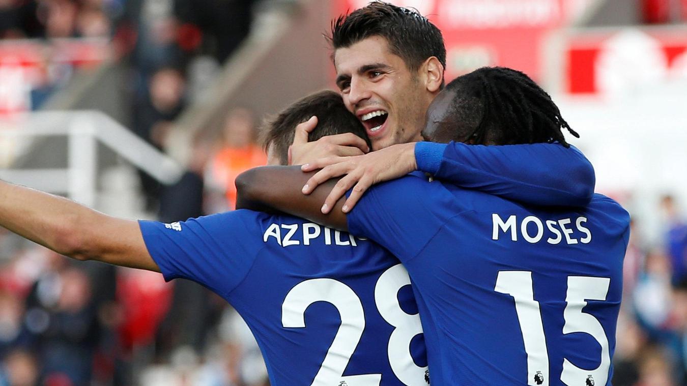 Stoke City 0-4 Chelsea
