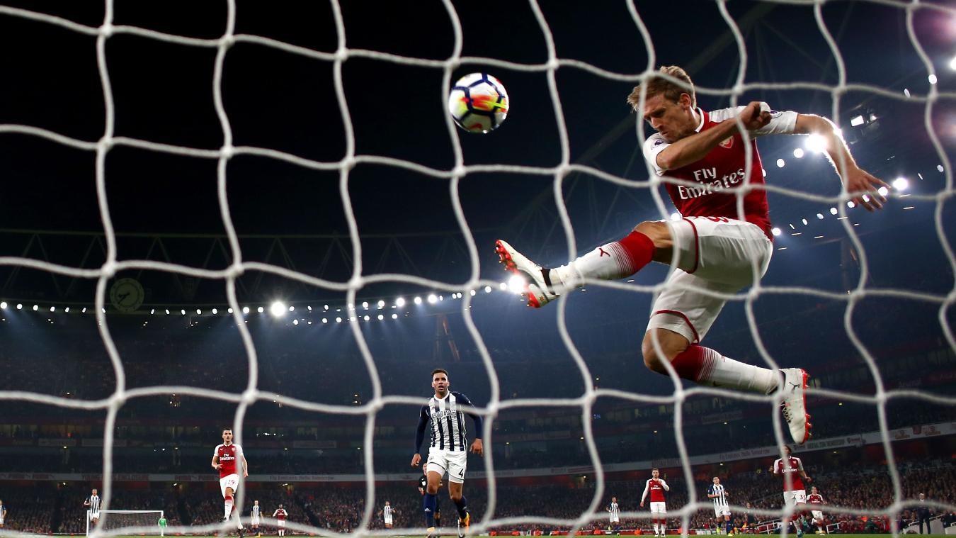 Arsenal 2-0 West Bromwich Albion