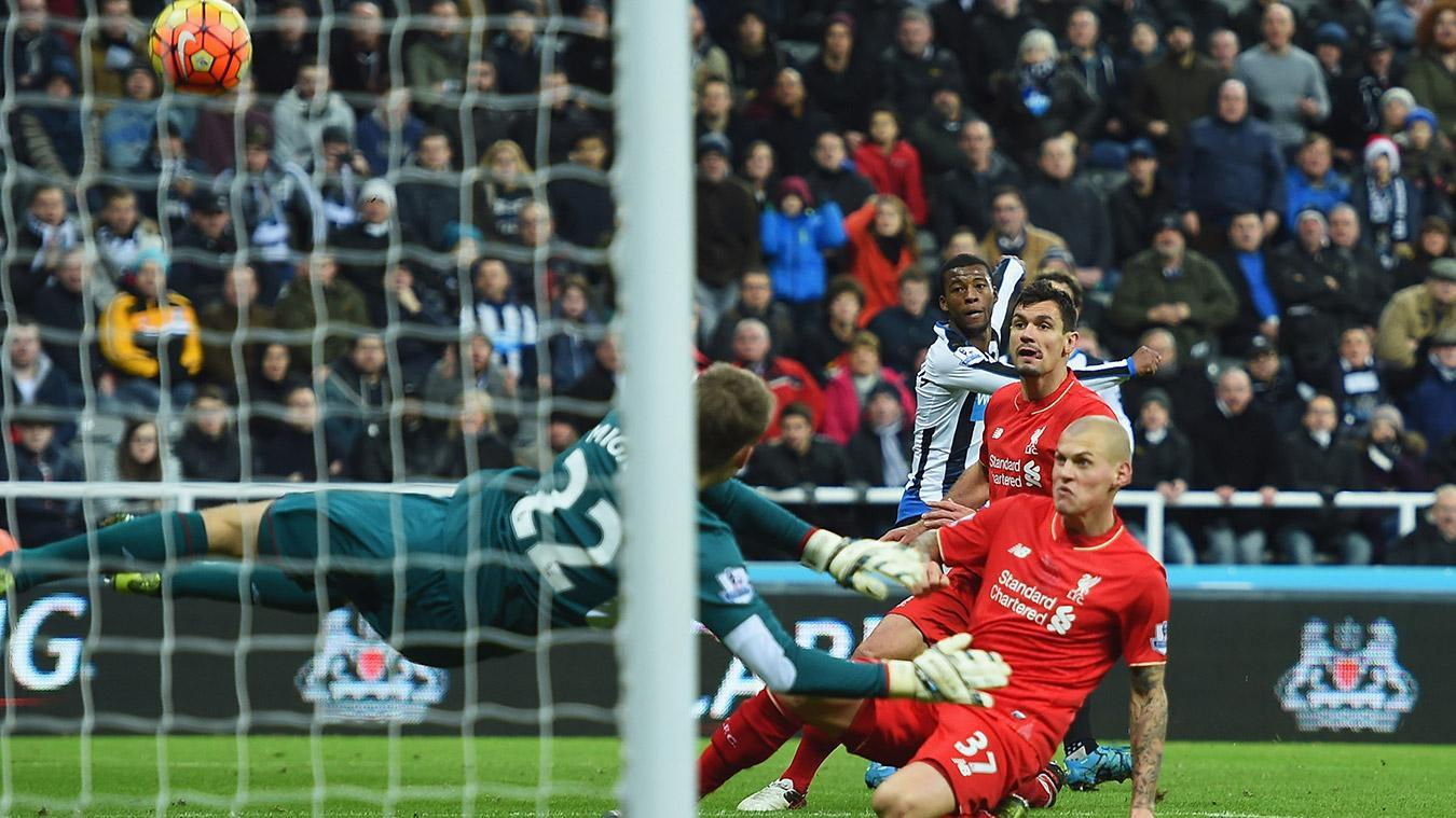 Newcastle United v Liverpool, 1 October