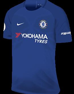 Chelsea home kit, 2017-18