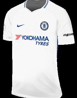 Chelsea away kit, 2017-18