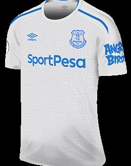 Everton away kit, 2017-18