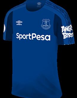 Everton home kit, 2017-18