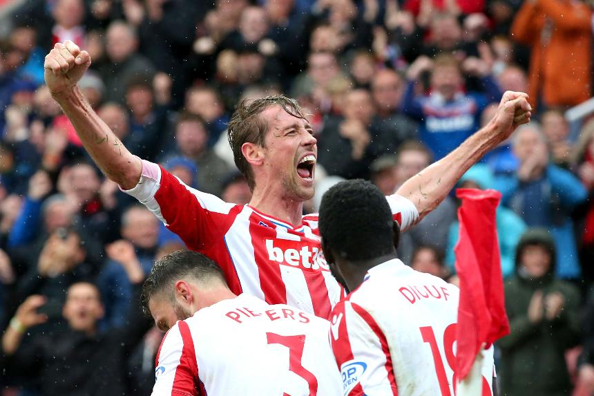 Stoke City v Southampton - Peter Crouch
