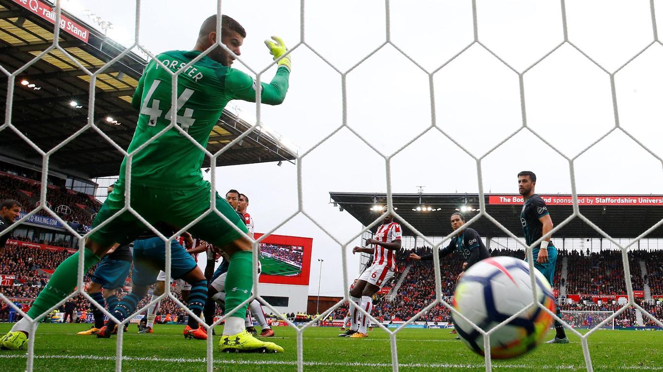 Stoke City 2-1 Southampton