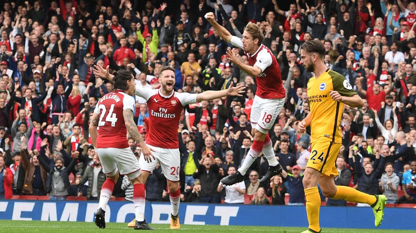 Arsenal 2-0 Brighton & Hove Albion