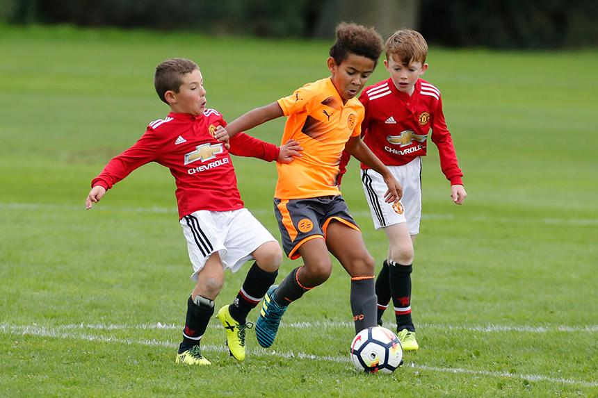 Reading v Manchester United, U9 Premier League Welcome Festival