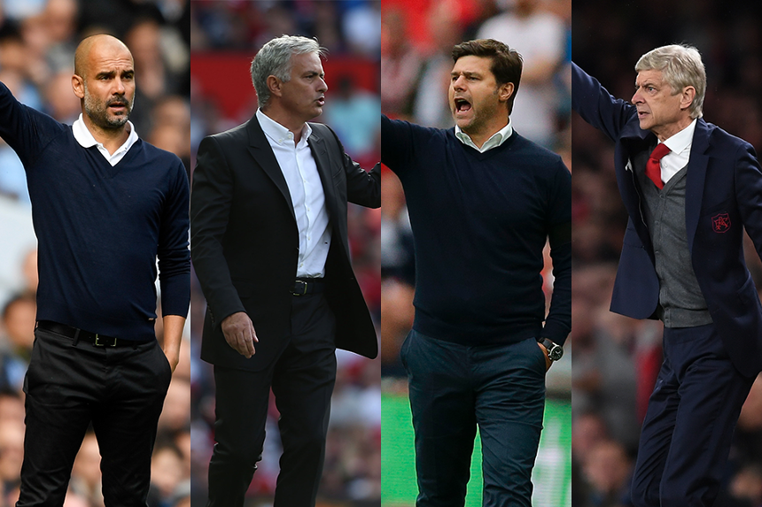 Barclays Manager of the Month shortlist for September, 2017