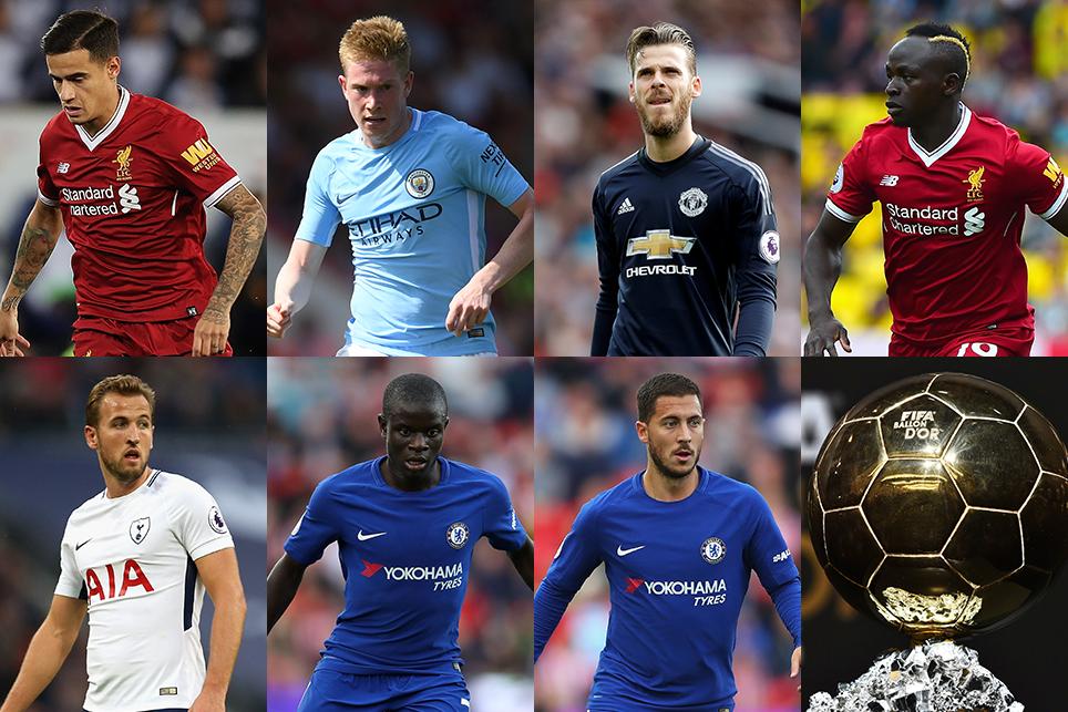 Premier League clubs top Ballon d'Or nominees