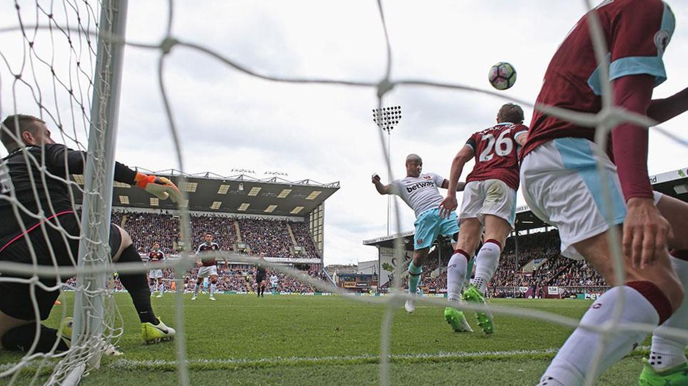 Burnley v West Ham, 14 October