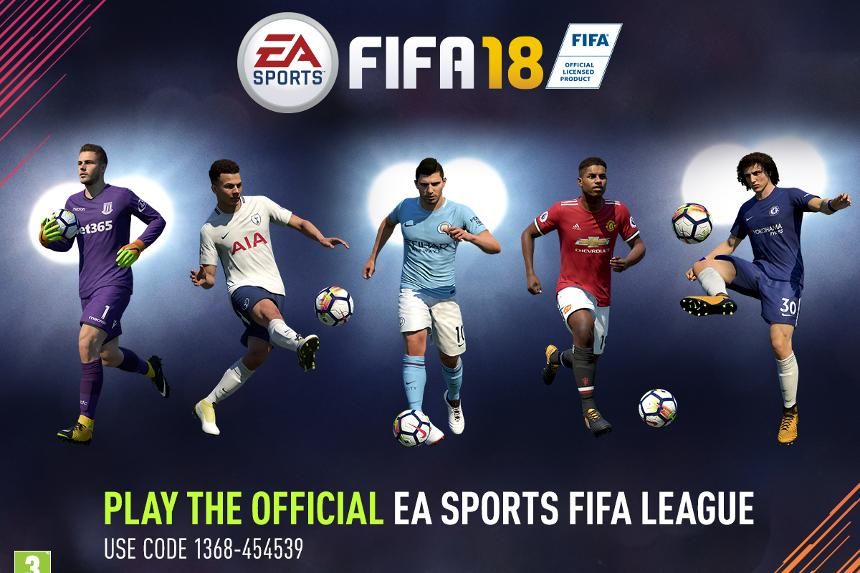 95be3ab153a Official EA SPORTS FIFA 18 Fantasy League launches