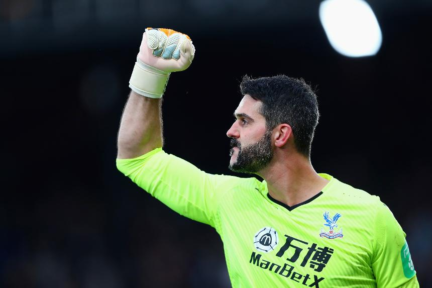Julian Speroni, Crystal Palace