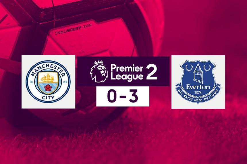 PL2 Man City 0-3 Everton