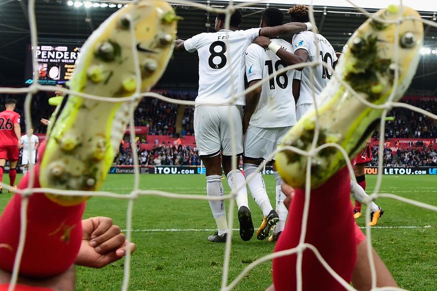 Swansea City 2-0 Huddersfield Town