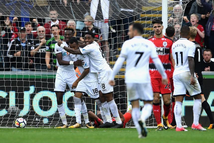 Swansea City v Huddersfield Town