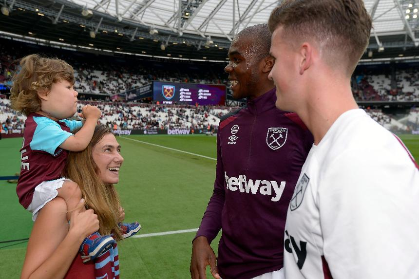 Henrique enjoyed his visit to West Ham