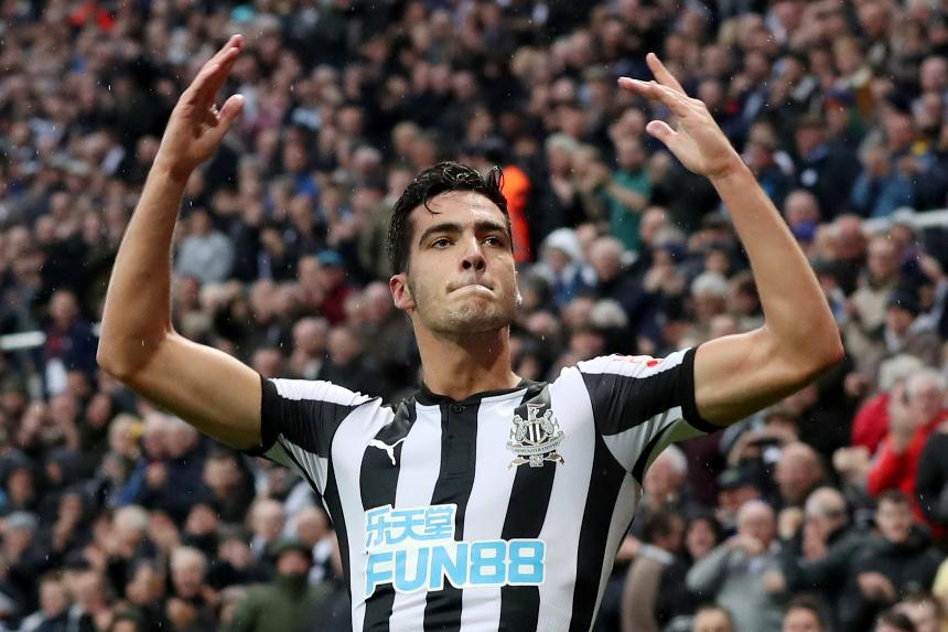 Mikel Merino - Newcastle United vs Crystal Palace