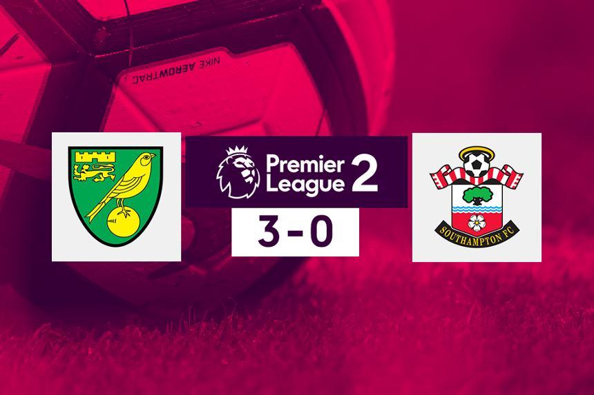 Norwich v Southampton, PL 2 score