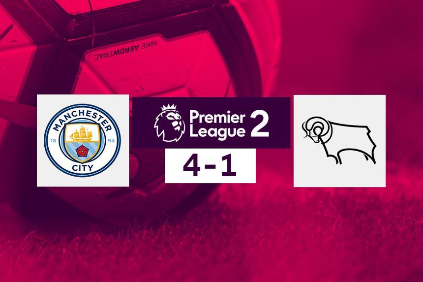 Man City v Derby, PL2 score