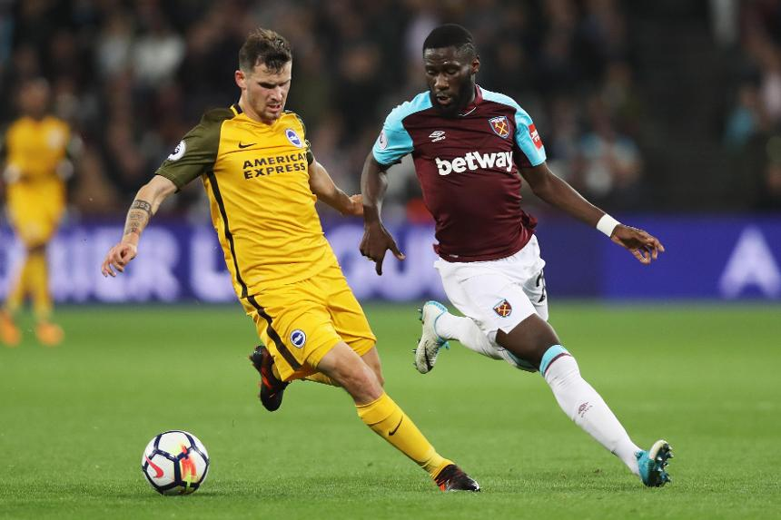 West Ham United v Brighton and Hove Albion, Pascal Gross