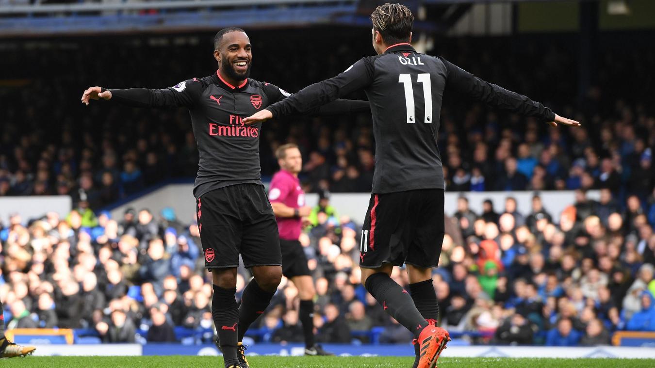 Everton 2-5 Arsenal