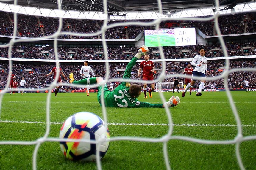 Spurs v Liverpool, Wembley Stadium