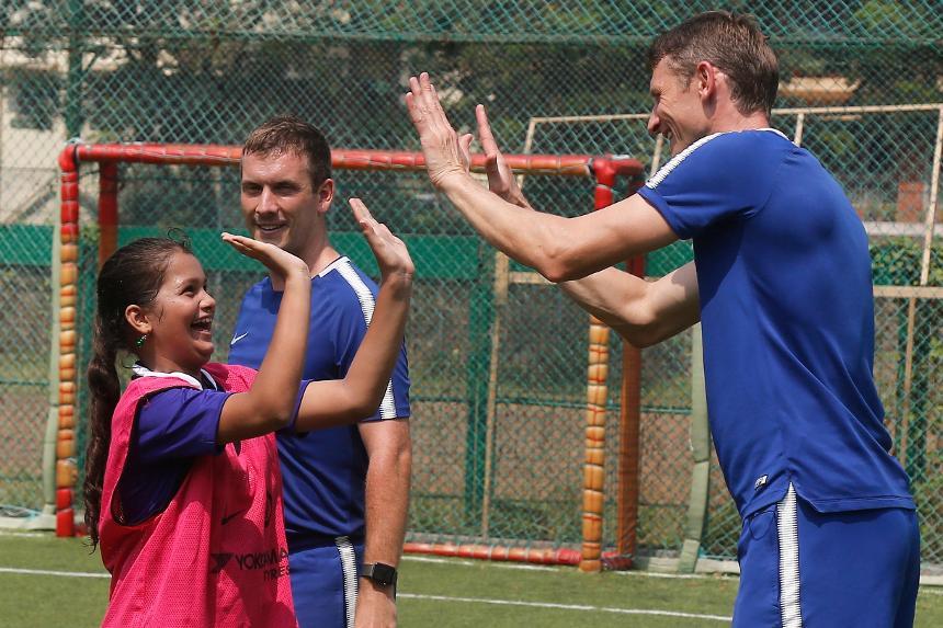 Chelsea helping to break down barriers in India