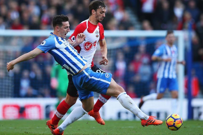 Brighton and Hove Albion v Southampton - Lewis Dunk