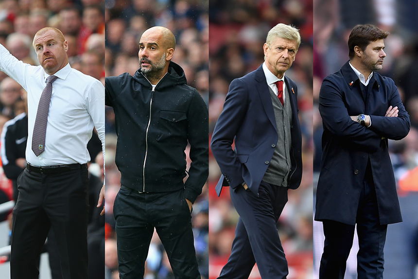 Manager of the Month nominees for October 2017